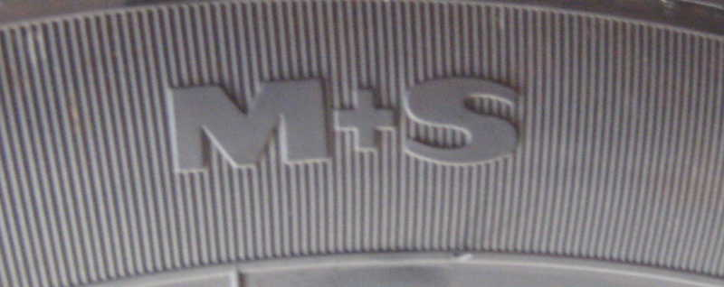 Kennzeichnung für M+S-Reifen