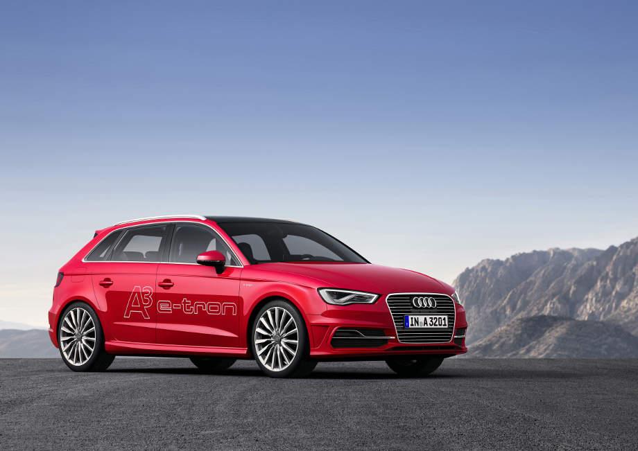 A3 Sportback als Plug-in-Hybrid: Erster Audi e-tron geht 2014 in Serie