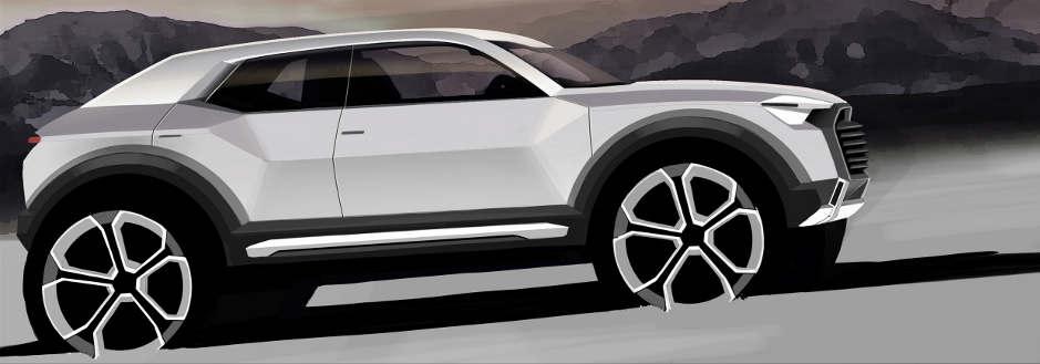 Neues Modell bei Audi: Q1 wird ab 2016 in Ingolstadt gebaut