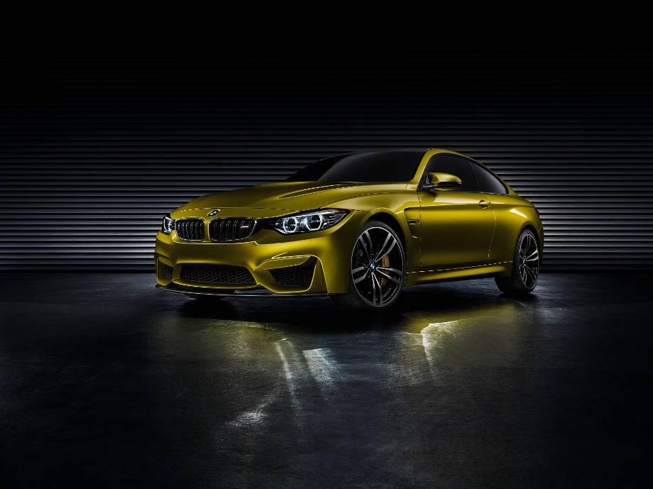 Premiere des BMW M4 Coupé: Hochleistungs-Sportler in großen Fußstapfen