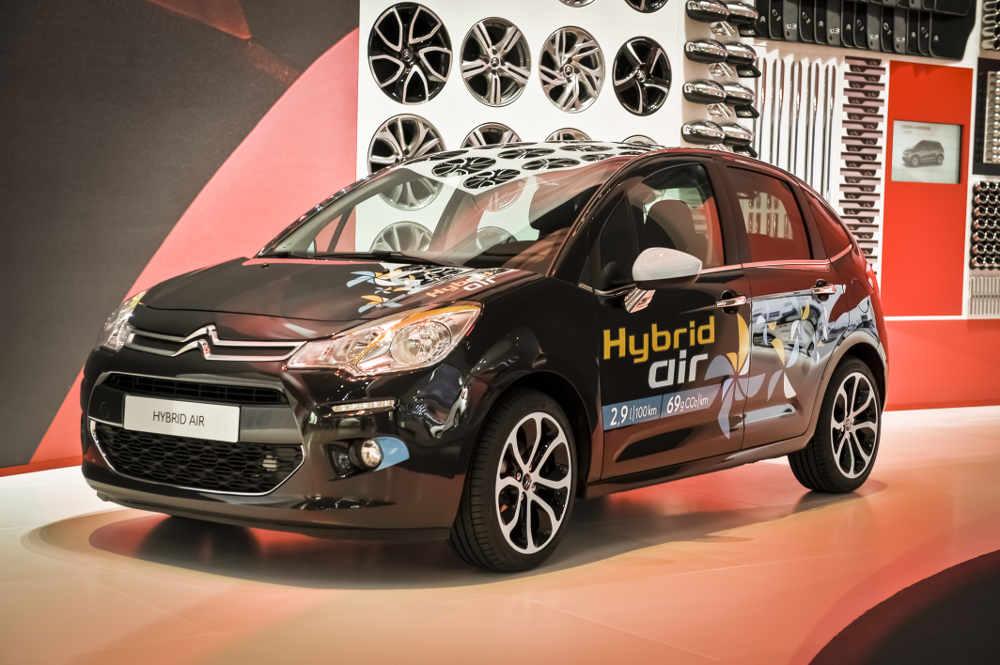Neue Reifen von Michelin unterstützen Hybrid-Air-Technologie bei Citroën
