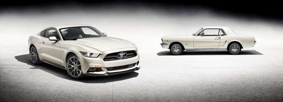 Ford Mustang 50 Year Limited Edition: Ponycar feiert halbes Jahrhundert