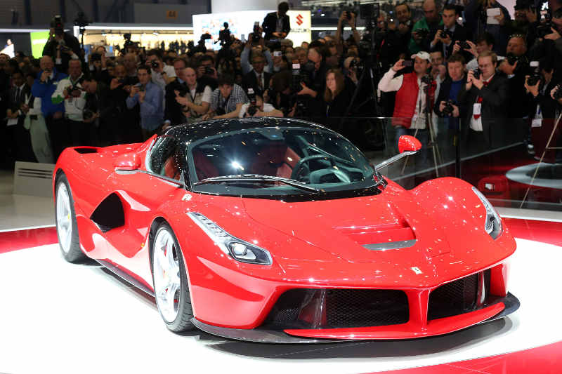 Sportwagen der Extraklasse: Die Supersportler auf dem Genfer Autosalon