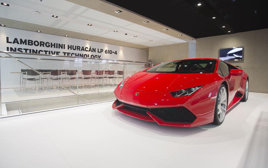 Genf 2014: Der Lamborghini Huracán betritt die Bühne