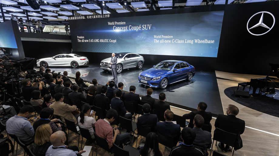 Auto China 2014: Deutsche Hersteller geben in Peking Vollgas