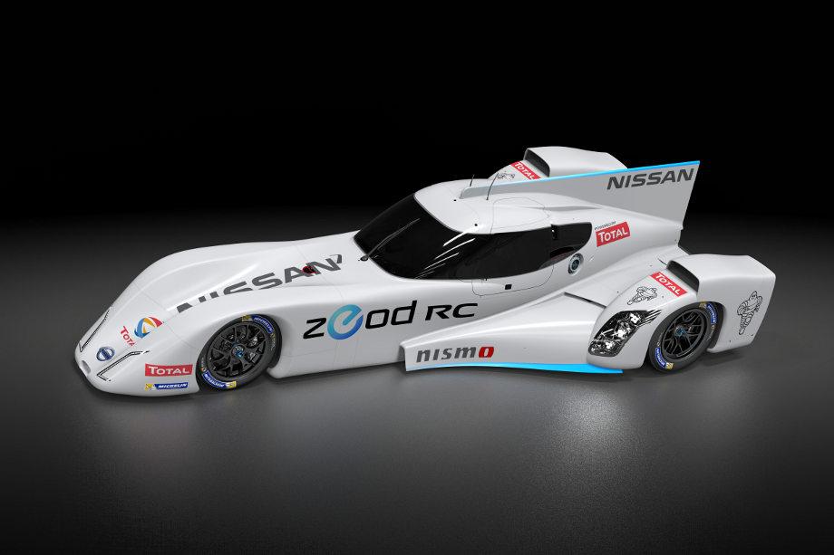 Nissan ZEOD RC: Schnellstes Elektroauto der Welt startet in Le Mans
