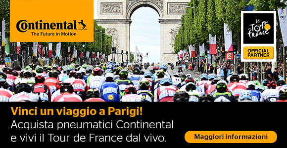 Vivere il Tour de France live con Gommadiretto.it e Continental