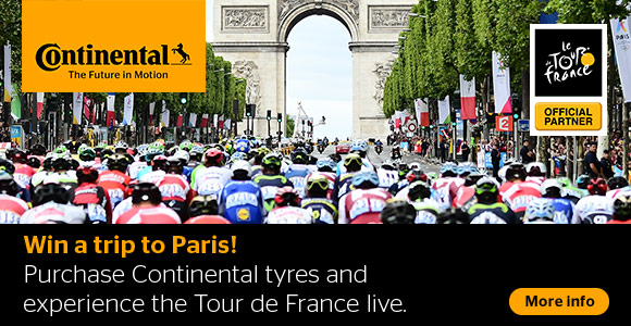 Experience the Tour de France live with Mytyres.co.uk and Continental