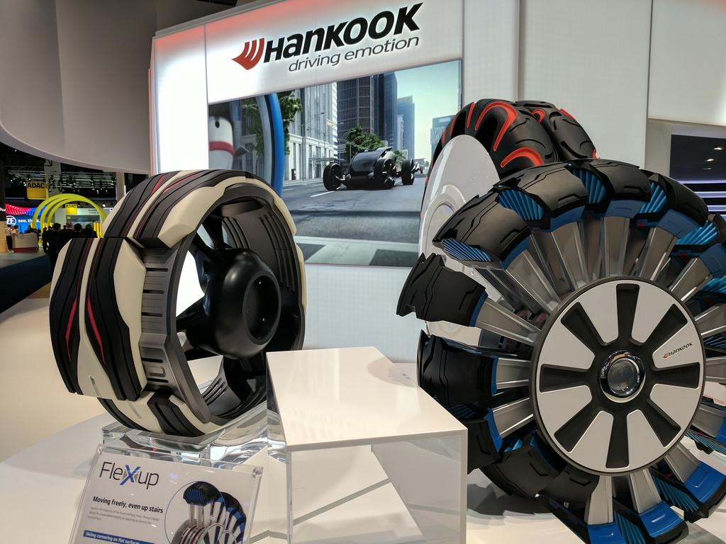 Gli pneumatici per autocarri e autobus di Hankook