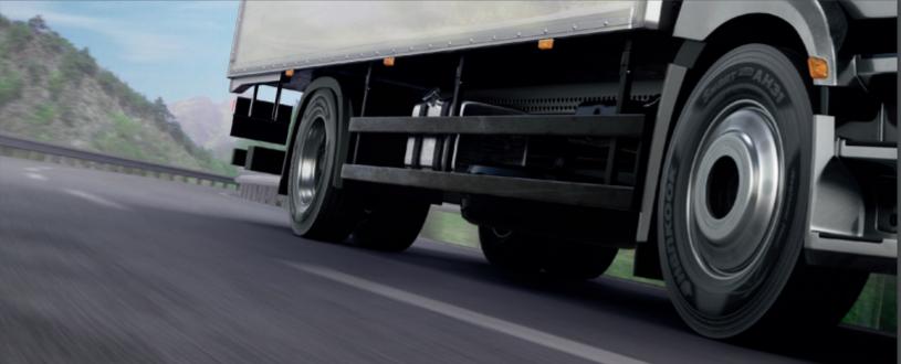 Les pneus pour poids lourd et bus de Hankook