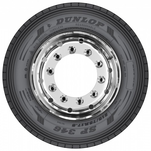 Twenty new Dunlop truck tyres for high mileage