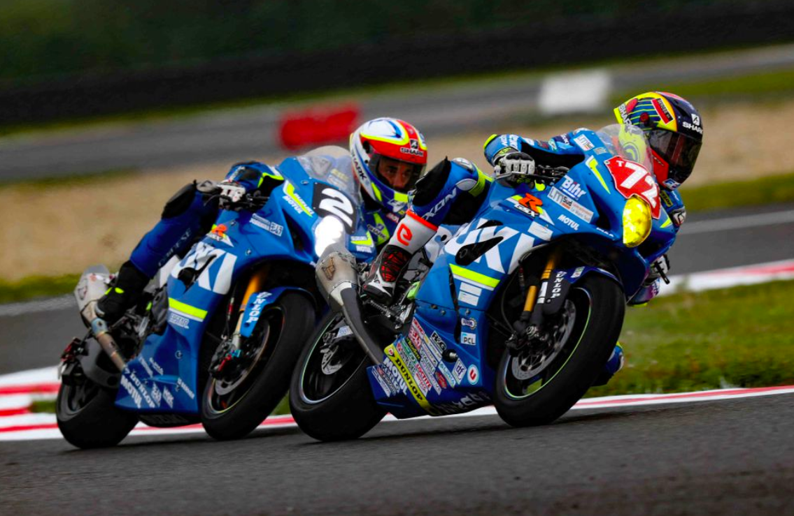 Junior Team Le Mans Sud Suzuki with Dunlop Tyres win Superstock