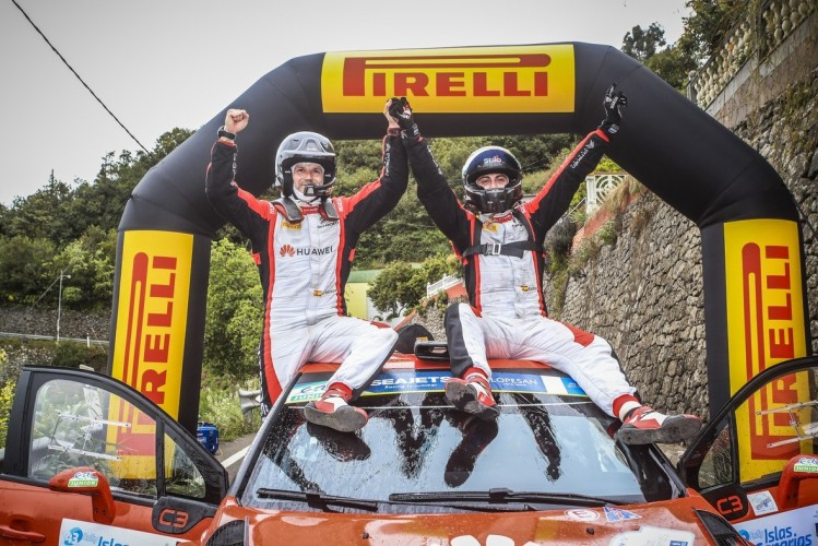 New rally tire of Pirelli has taken its another win