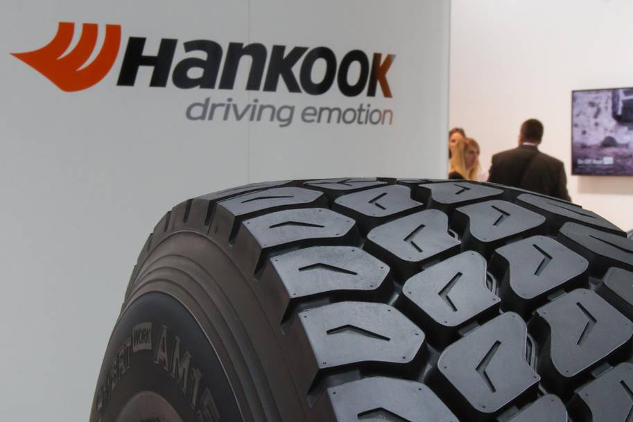 Hankook Tyre UK presented solutions for truck, truck and bus during the APSE Scotland Fleet