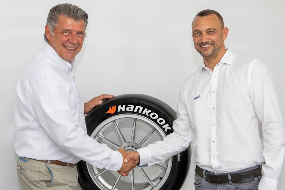 На этой неделе было продлено партнерство между Hankook Tire и DTM