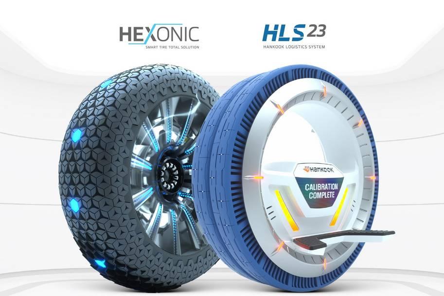 Les pneus concept Hexonic et HLS-23 de Hankook ont été récompensés pour leur caractère innovant