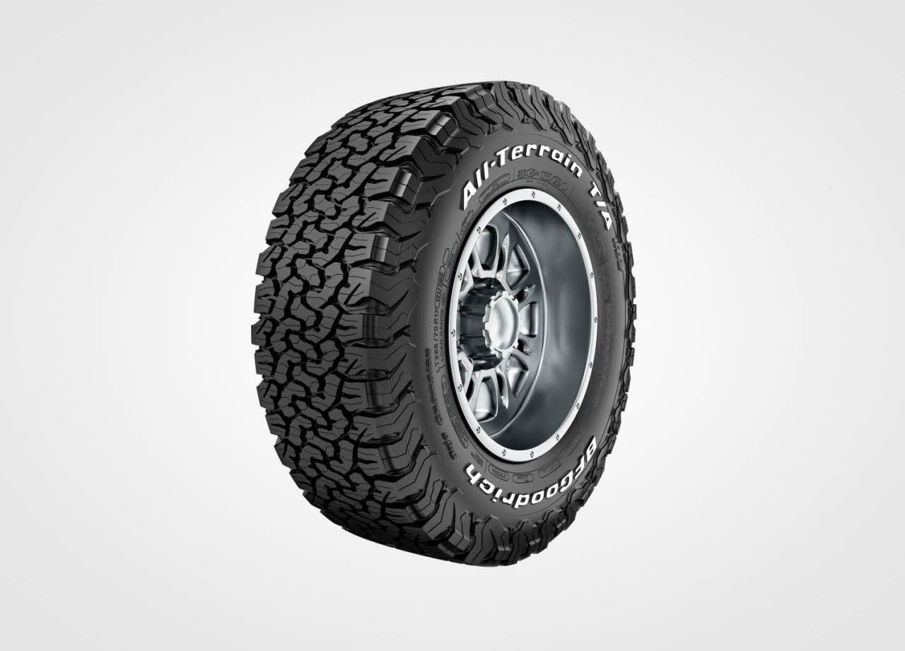 Michelin alleges infringement of patented design for the category-leading BFGoodrich Tires