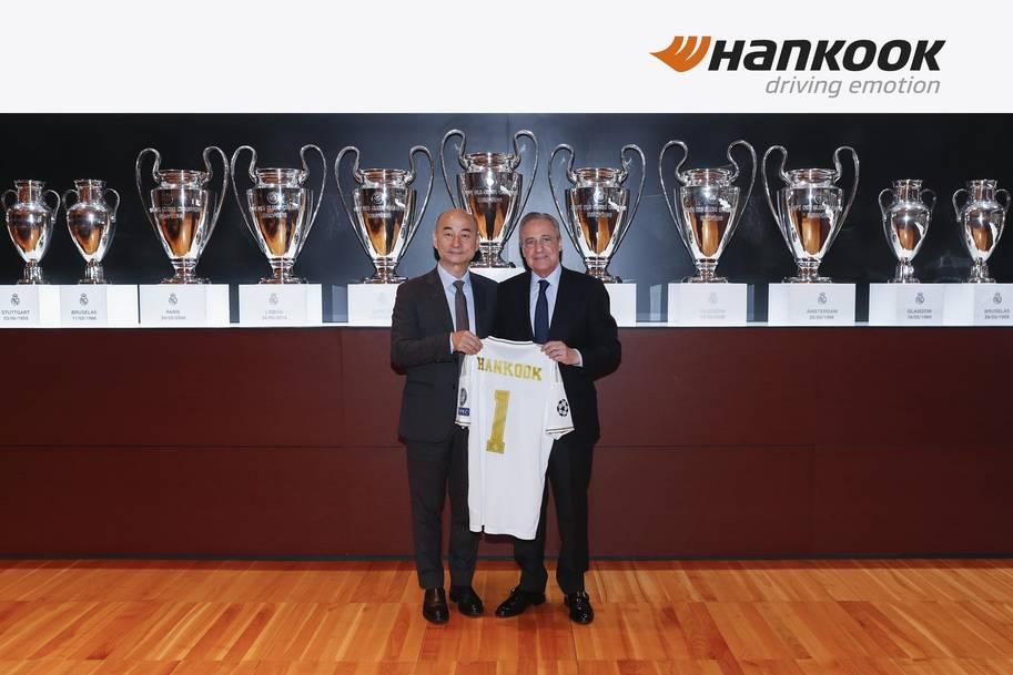 Hankook Tire förlänger sitt sponsringskontrakt med Real Madrid C.F.
