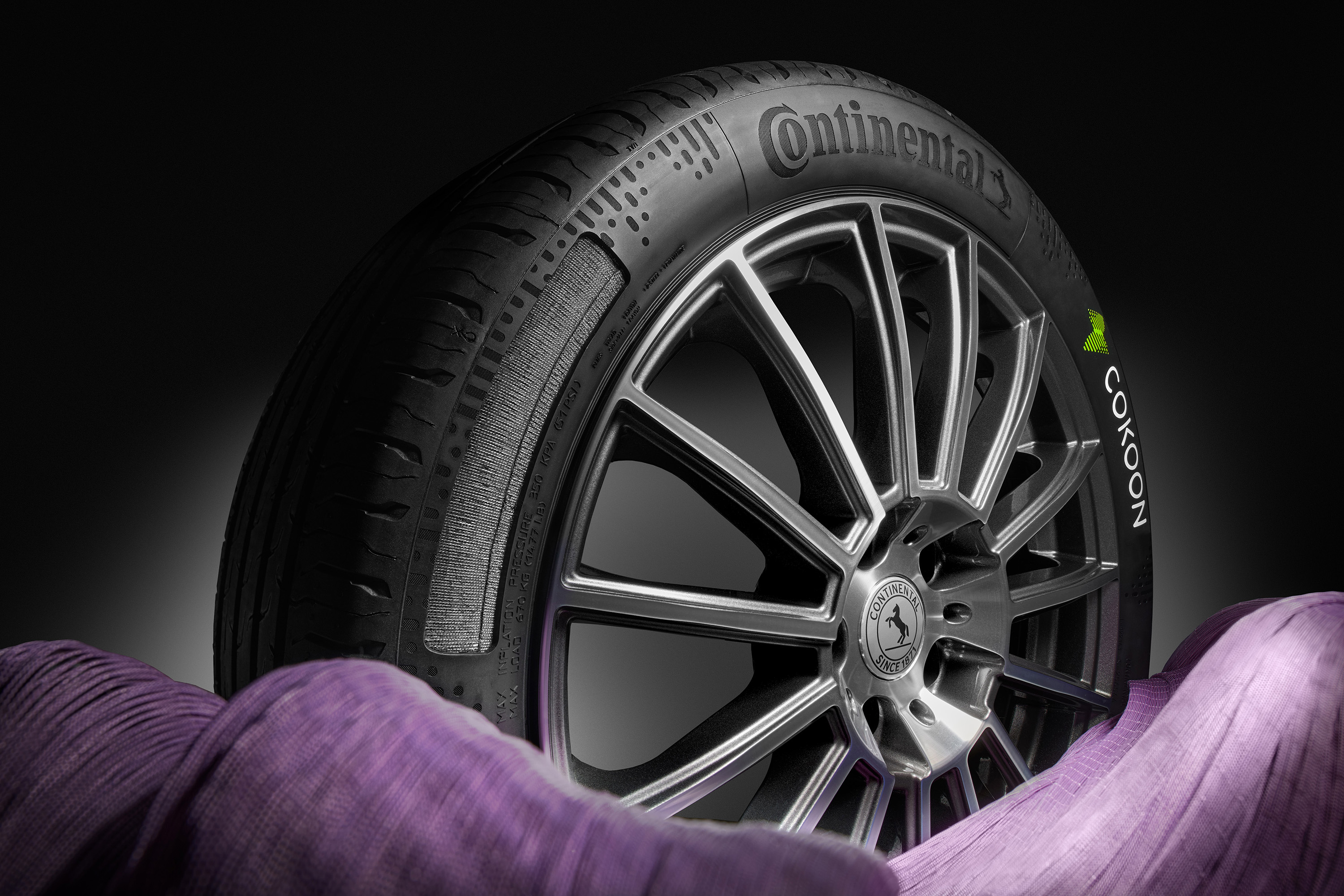 Сontinental and Kordsa bring first series tyres with Cokoon dip technology onto the road