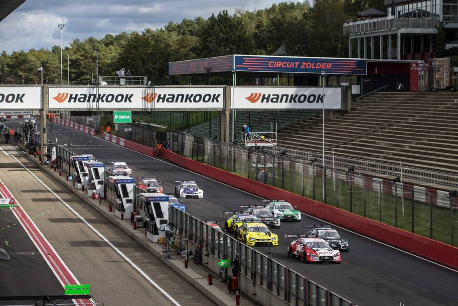 Hankook race tyre excels in top-class racing series in Belgium, Spain and Italy