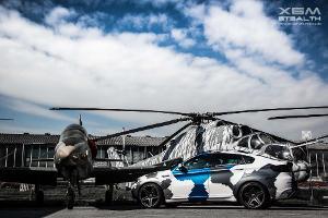 BMW X6M Stealth: Flecktarn-SUV mit 700 PS