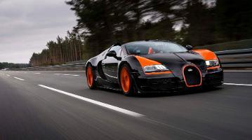 Bugatti Veyron 16.4 Grand Sport Vitesse: Weltrekord oben ohne
