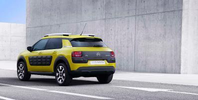 Premiere des Citroën C4 Cactus: Mini-SUV mit Luftpolsterung