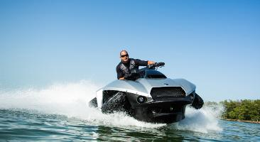 Gibbs Quadski – with 72 km/h both on land and water