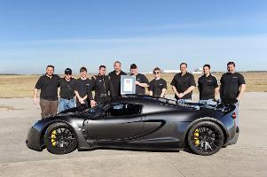 Hennessey Venom GT: Neuer Guinnes-Weltrekord im Sprint