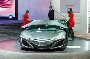 Honda NSX Concept: Sparsamer Leistungssportler in futuristischem Look