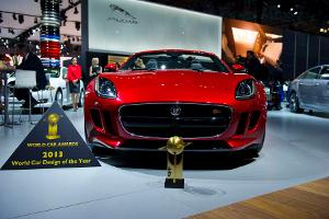 "Jaguar F-Type: ""World Car Design of the Year 2013"""