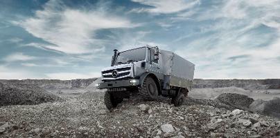 Umweltfreundlicher Unimog: Mercedes setzt auf Euro VI-Motoren