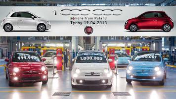 Millionster Fiat 500 gefertigt: Neue Baureihe des Kultautos feiert Rekord