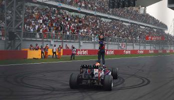 Jüngster Vierfach-Champion aller Zeiten: Sebastian Vettel ist neuer Formel-1-Weltmeister