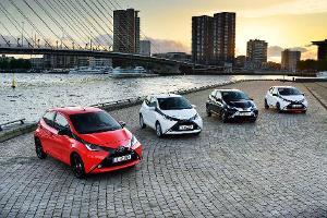 Marktstart des Toyota Aygo: Verspielter Lifestyle-Flitzer kommt mit neuem Gesicht