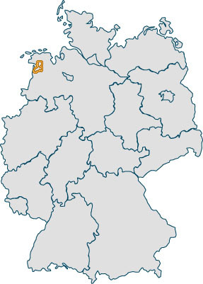 Verlauf der Deutschen Fehnroute