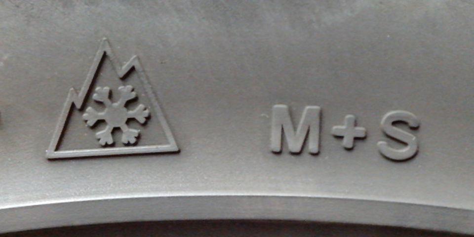 Kennzeichnung von Winterreifen