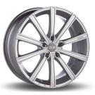 Oz Racing LOUNGE 10 METALLIC SILVER FRONT POLISHED