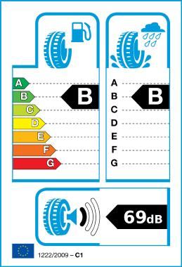 Logo of EU Tyre Label