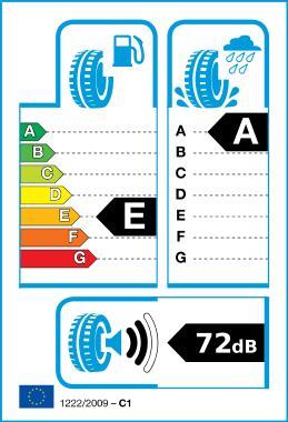 Logo de l'étiquetage de pneus UE