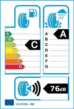 Logga på etiketten för EU-däck
